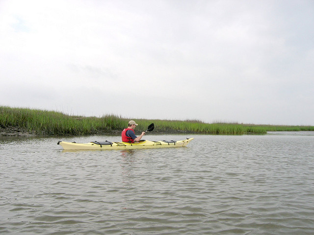 AWESOME secret island of Georgia - kayaking the salt marsh
