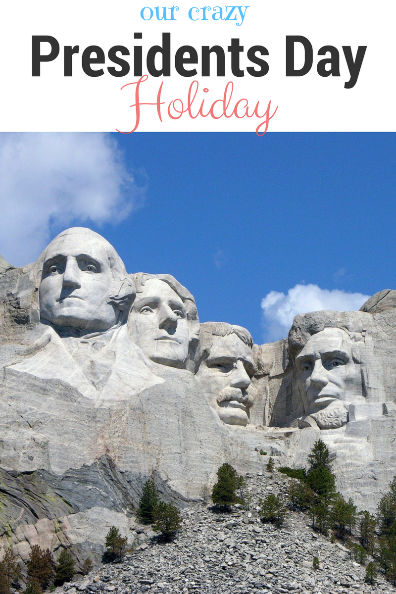 What We Did For The President 39 S Day Holiday This Year