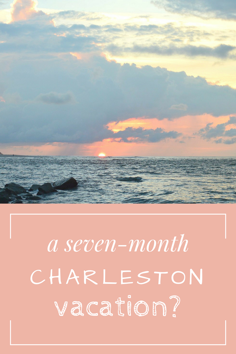 our extended Charleston South Carolina vacation - apartment and beaches