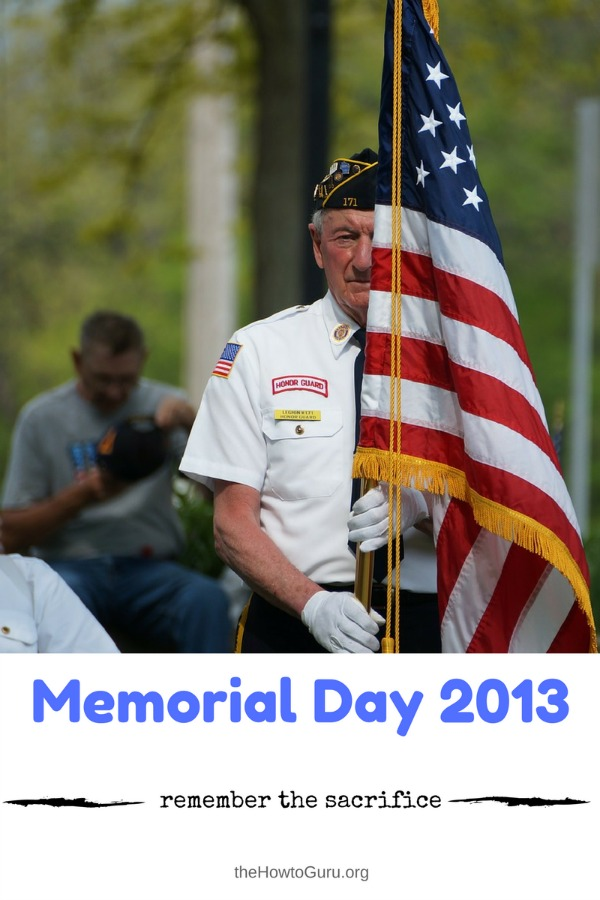 Memorial Day 2013 Challenge - enjoy your freedoms and teach young people about those who died for our liberty!