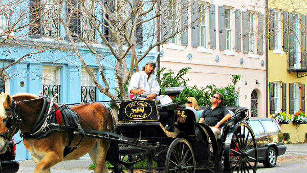 6 Exciting Charleston SC attractions with teens & older kids - Charleston Carriage