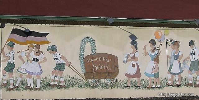 alpine village helen