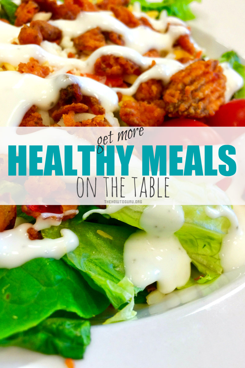 5 Hacks for getting healthy recipes for dinner on the table a lot more often in the midst of our crazy (yummy salad!)
