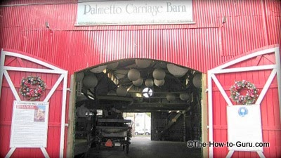 view of Charleston Carriage Tours Palmetto Carriage Barn