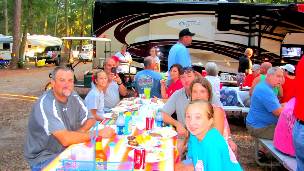 Jekyll island Campground Dinners
