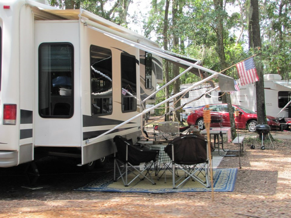 Jekyll Island Campground campsites