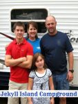 Jekyll Island Campground - great destination for family memories