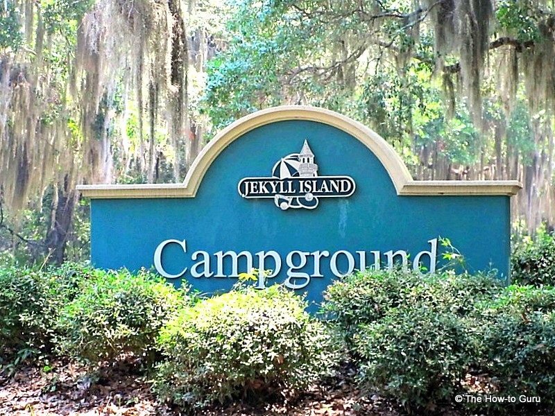 jekyll campground sign