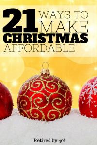 how to make christmas affordable