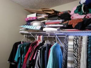Closet Clutter Challenge -How's it Going, Honey?