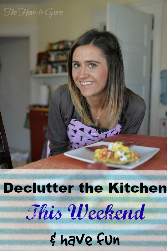 How To Declutter The Kitchen This Weekend & Have Fun, Honey