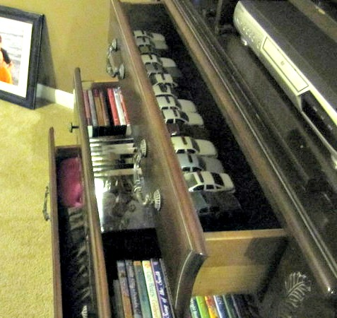 organized armoire
