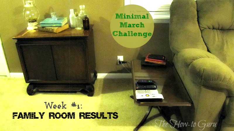 week#1 family room results