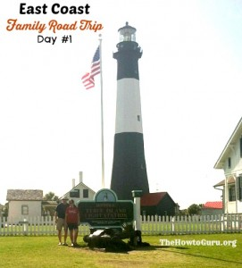East Coast Road Trip Adventures + Tybee Island Camping Review