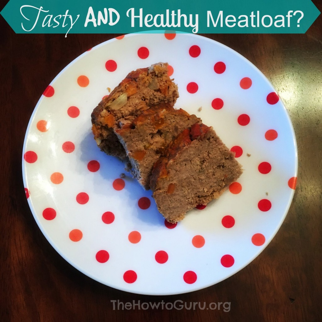 tasty and healthy meatloaf