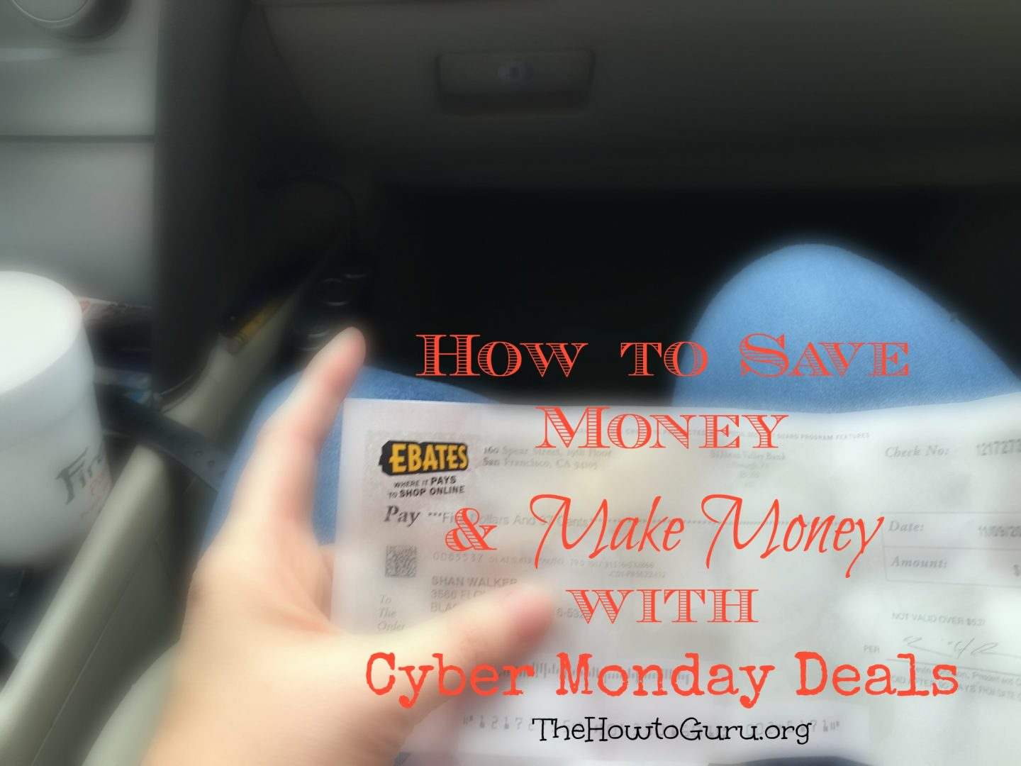 How To Make Money While Saving Money On Cyber Monday Deals + My Faves