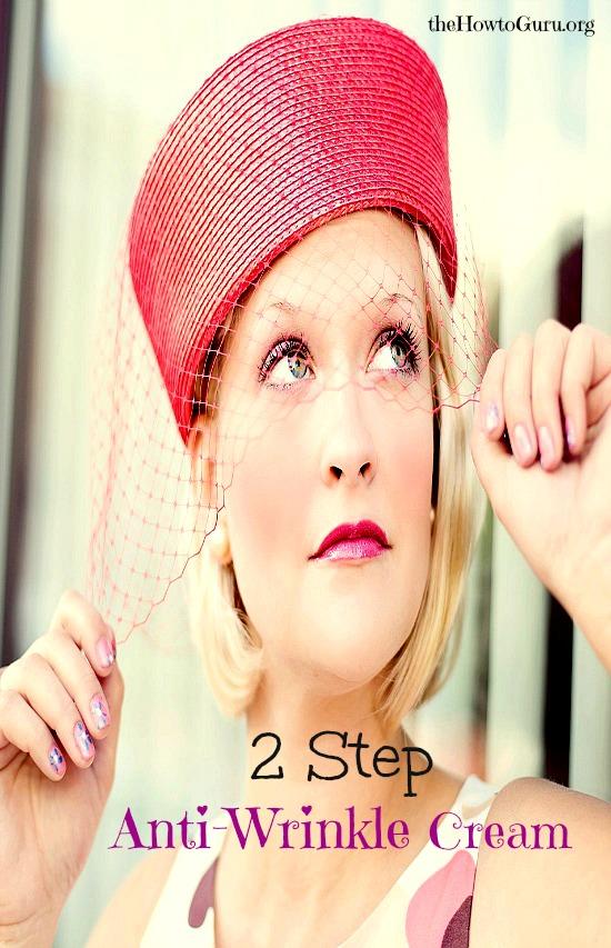 Wow!!! Anti Wrinkle, 2-Step Natural Eye Cream