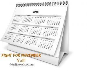 Fight for November
