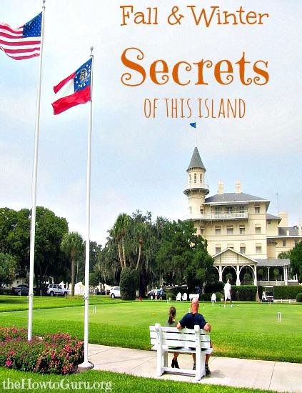 Fall and Winter Secrets of Jekyll Island Georgia!
