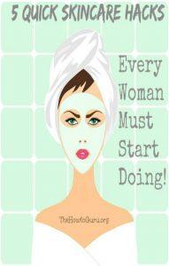 Beautiful Skin Hacks Every Woman Should Be Doing!