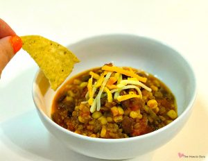 How to Make Taco Soup - fast, healthy, easy!