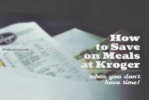 Kroger Ad: How To Save Money On Groceries In Minutes (vlog)