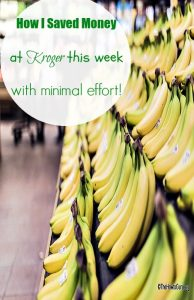 How I Saved Money With The Kroger Sales Ad This Week (Vlog)!