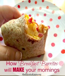 Breakfast Burrito (31 Days of Delicious Easy Recipes For Busy Wives Day 12)