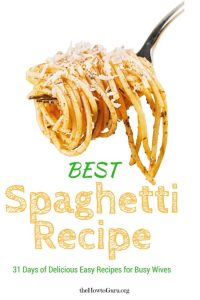 Best Spaghetti Recipe