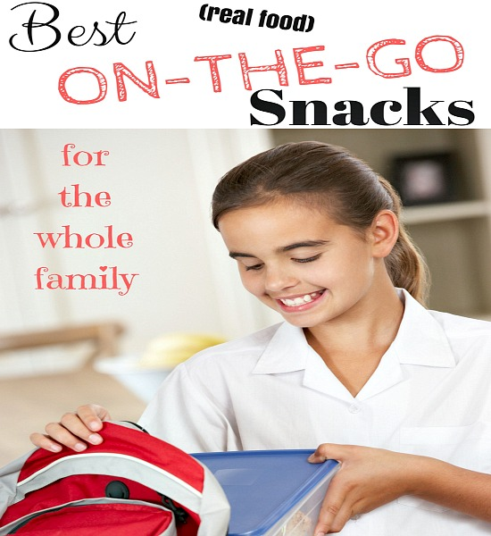 Her BEST SNACKS list is wonderful because they are pre-packaged but healthier than most!