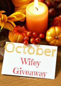 October WIFEY Giveaway! (Pumpkin Kit+Home Decor+Lantern+Radio)