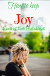 Holiday Blues List to Bring you out of the Gutter!