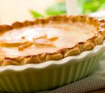 close up of easiest homemade pie crust