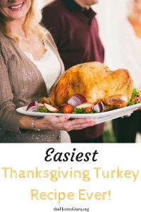 Thanksgiving Turkey: The Easiest Way! (Countdown to Thanksgiving!)