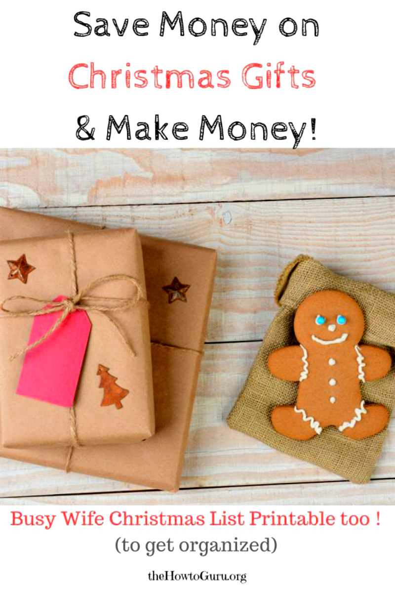 AMAZING buying Christmas Presents Hack & FREE printable!