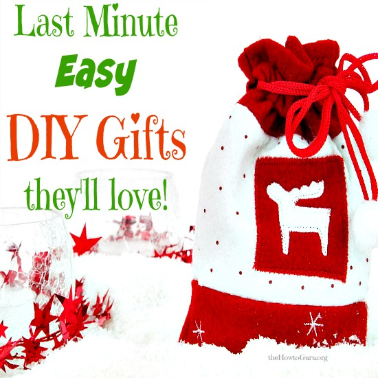 Last Minute EASY&CHEAP DIY Christmas Gifts you've got to see!