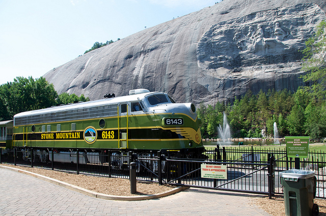 image of Stone Mountain Park train- 5 Road Trip Ideas