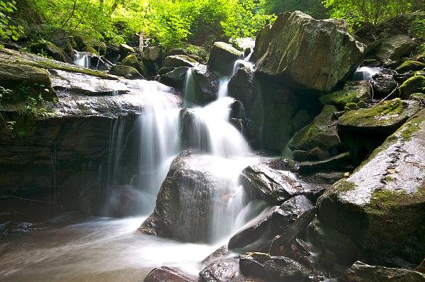 view of road trip idea, Amicalola Falls, Georgia