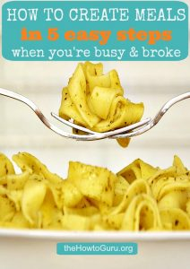 How To Shop Your Pantry In 5 Easy Steps When You're Broke & Busy!