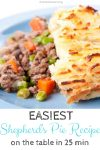 EASIEST healthy Shepherd's Pie Recipe ready in 25 minutes!!!