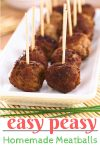 Her amazing, low carb, homemade meatballs are easy, flavorful, and gluten free!