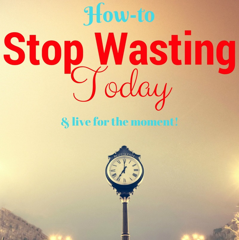 Here AWESOME advice of how to live in the moment!