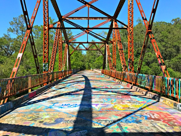 Spirit of the Suwannee Florida Campground Adventure - Suwannee Bridge