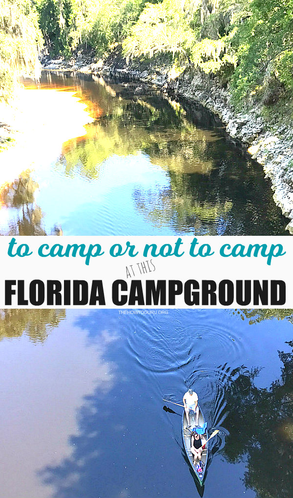 Florida campground family adventure Review - Suwanee River Kayaking