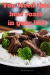 CRAZY-easy beef roast recipe!