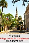 Everyone wants to know the cheap things to do in Charleston, here are the secrets of how to experience the Holy City on a dime!!!