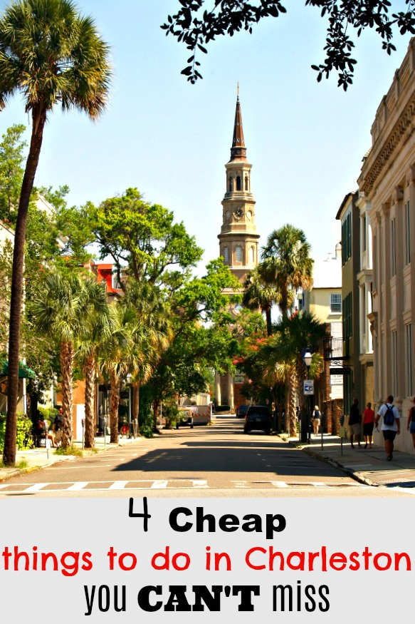 Everyone wants to know the cheap things to do in Charleston. Here are the secrets of how to experience the Holy City on a dime!!!