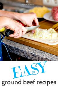 Easy Recipes With Ground Meat That Will Save Your Sanity