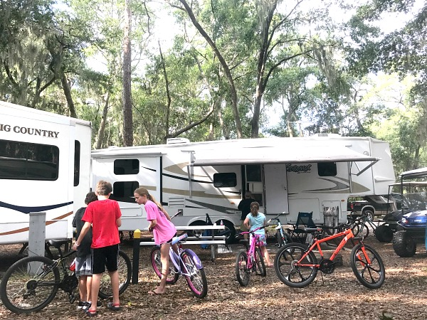 Lots of kid fun on RV Vacation!
