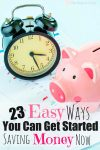 23 FABULOUS ways to save money that she shares in very practical tips!!!